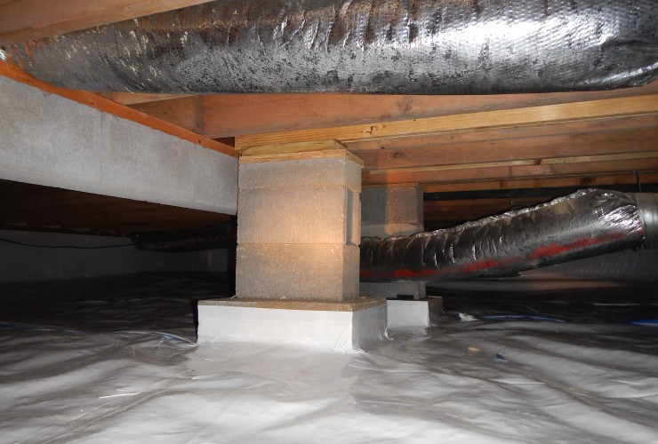 Vapor Barrier Installation